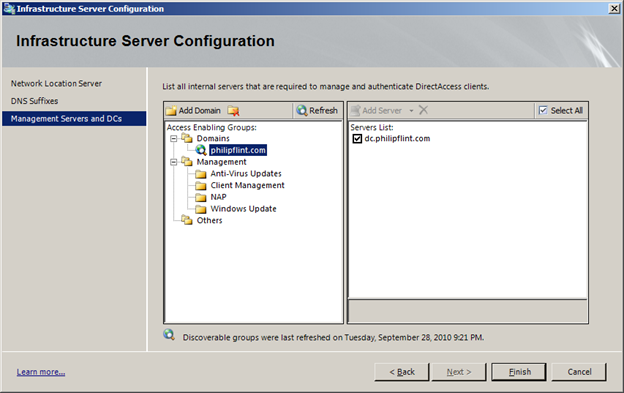 antivirus exclusions for domain controllers